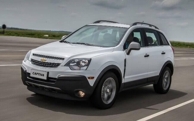 É o fim da linha para o Chevrolet Captiva, que estava fazendo hora extra no Brasil, vendido em versão única