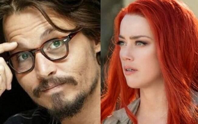 Johnny Depp e Amber Heard foram casados e romperam em 2016