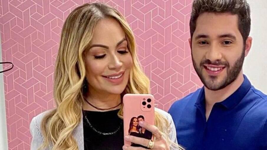 Solange Almeida se casa no sigilo com Monilton Moura