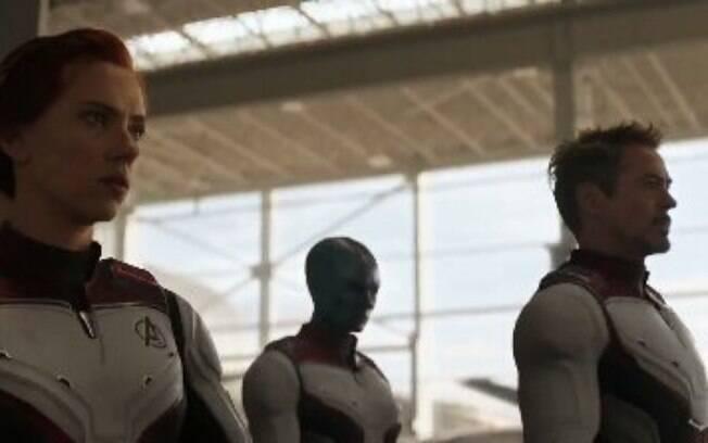 Tony Stark em Vingadores: Ultimato