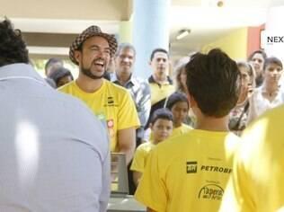 O projeto Tapera das Artes é um dos patrocinados pela Petrobras que sofre com a falta de recursos