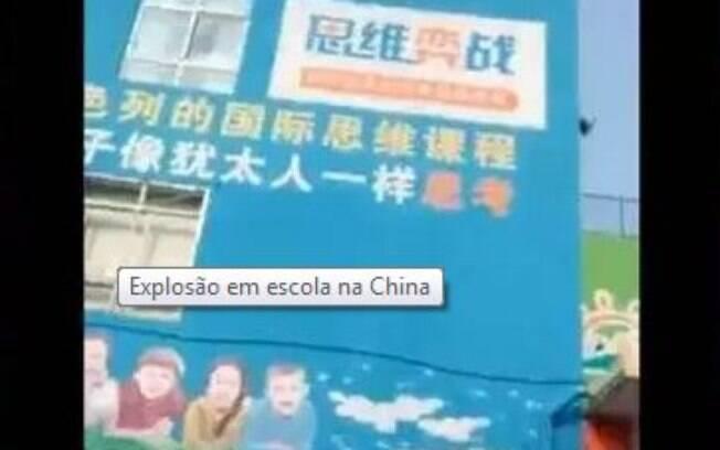 Explosão em escola infantil da China resulta em seis mortos e 59 feridos, vítimas são crianças e pais
