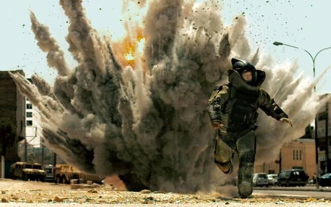 Jeremy Renner em cena do filme