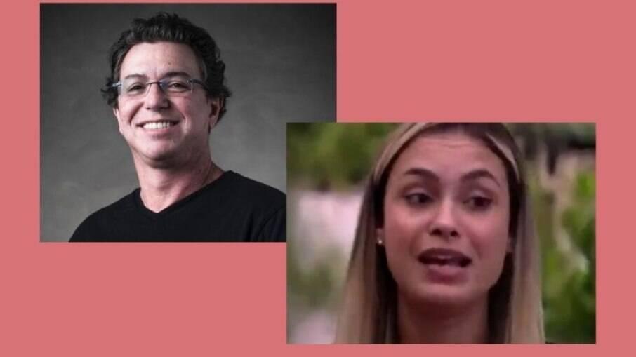 Boninho ironizou o comportamento de Sarah no programa