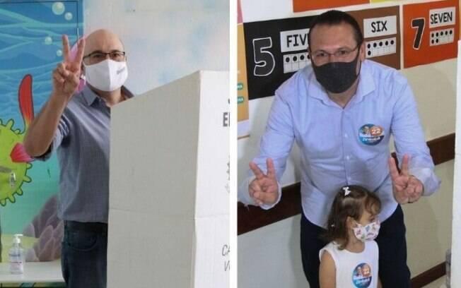 Como os partidos coligados com Rafa e Dário se relacionam com Bolsonaro