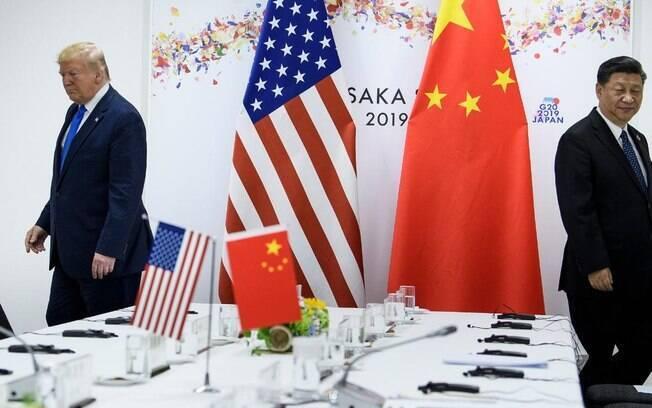 As relações entre EUA e China estão abaladas desde o início da pandemia de coronavírus