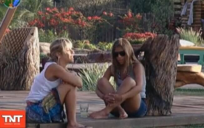 Anna Markun e Raquel Pacheco conversam sobre a próxima Roça