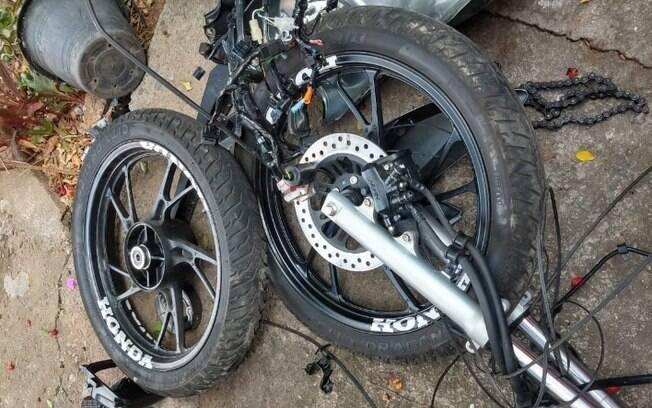 Polícia Civil detém quatro pessoas em desmanche de motos em Campinas