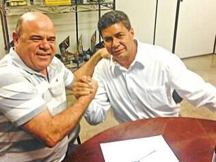 Apoio.  O presidente do PSDC, Alessandro Marques, firmou parceria com o vereador de Betim Beto do Depósito para sua pré- candidatura