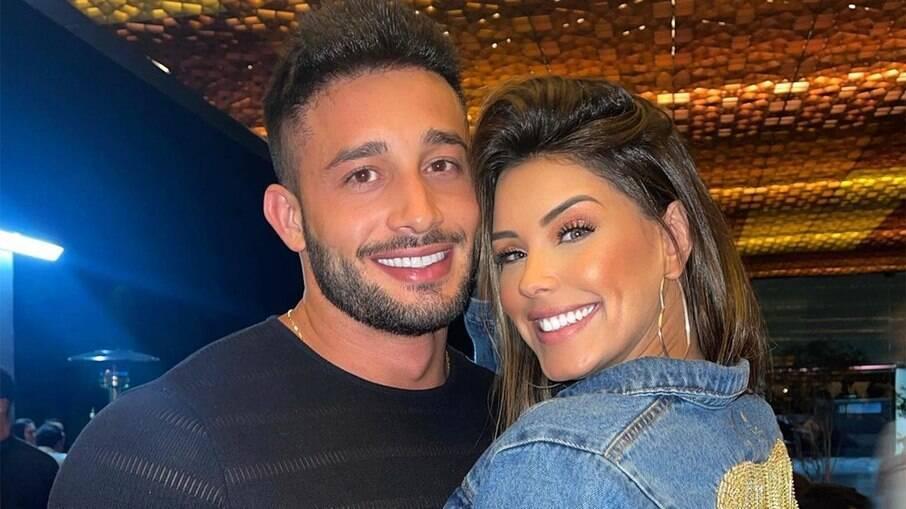 Ivy Moraes e o namorado, Fernando Borges
