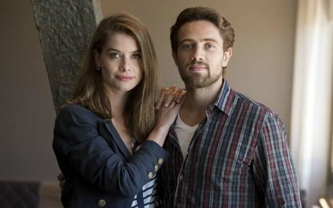 Lívia e Felipe em