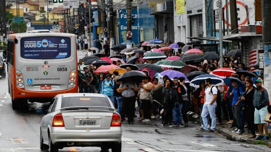 Previsão do tempo desta sexta-feira é de chuva na capital paulista