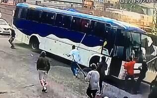 Briga entre torcedores de organizada do Palmeiras deixa um baleado e dez presos