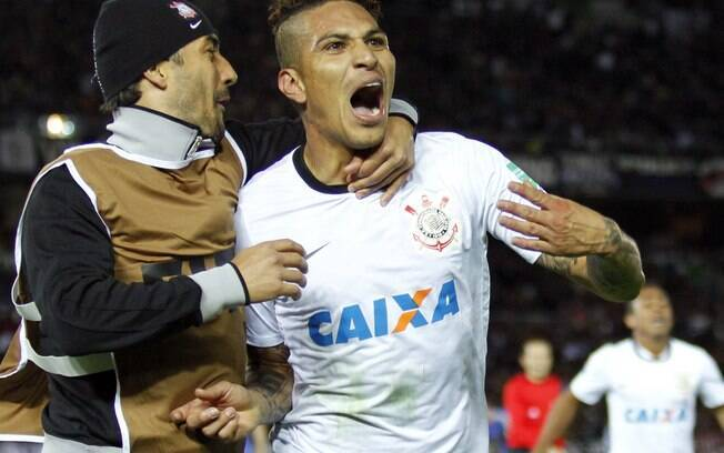 Guerrero marcou gol da vitória do Corinthians  na final do Mundial de Clubes