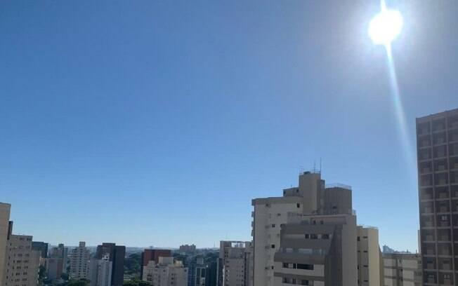 Domingo será de predomínio de sol e calor em Campinas