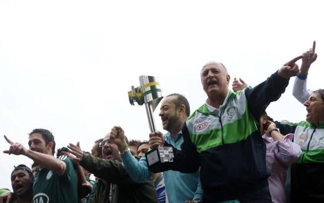 Na temporada 2012, técnico comandou o  Palmeiras na conquista da Copa do Brasil