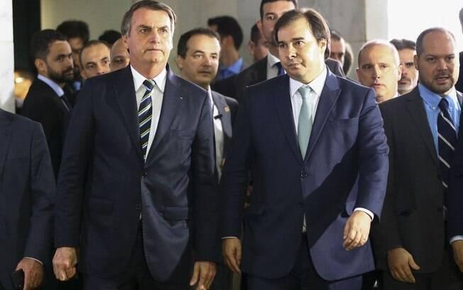 Rodrigo Maia foi um dos principais articuladores políticos da reforma da Previdência