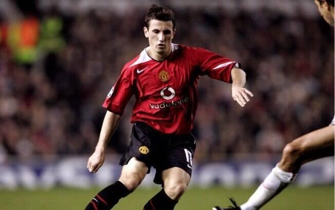 Liam Miller é ex-jogador do Manchester United e defendeu o clube entre 2004 e 2006