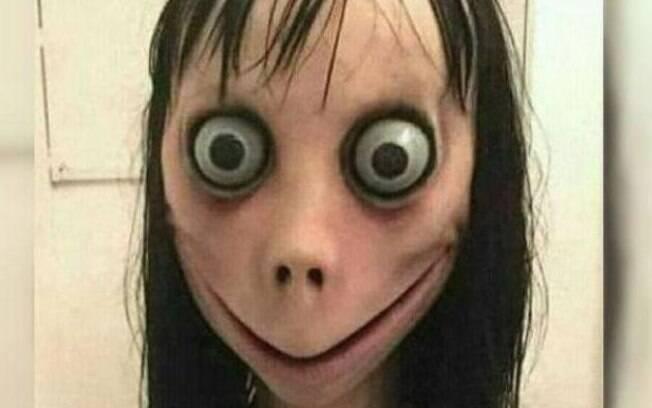 Momo tem aterrorizado crianças por todo o mundo