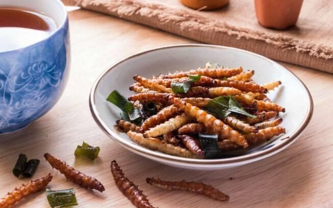 Joy defende que comer insetos, além de saudável, é uma maneira mais sustentável de se alimentar