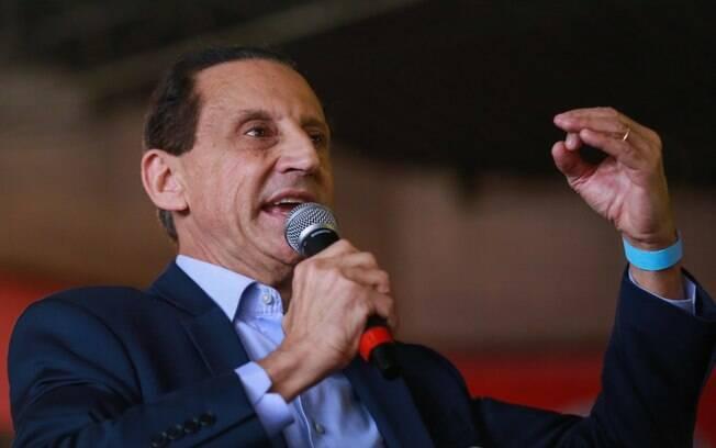 Empresário Paulo Skaf oficializa seu nome para disputar o governo de São Paulo pelo MDB