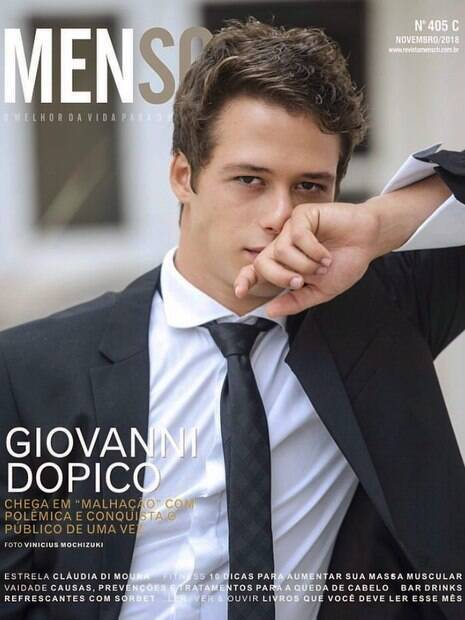 Conheça Giovanni Dopico, o novo galã jovem da Globo