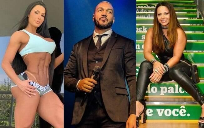 Gracyanne Barbosa quer que Belo e Viviane Araújo resolvam questões do passado