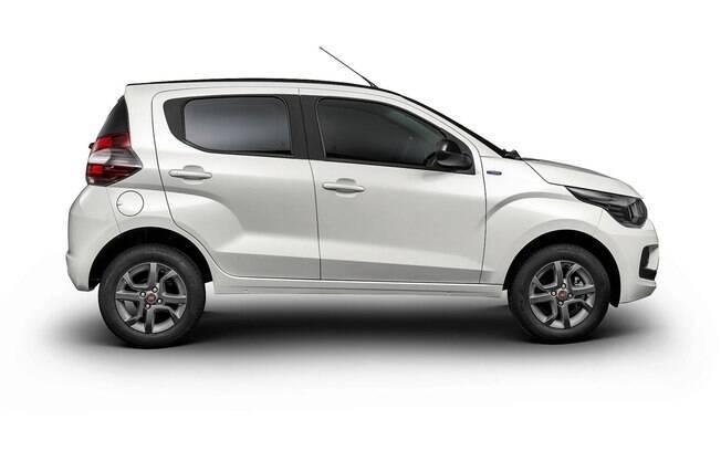 Fiat Mobi Velocity vem equipado com uma série de acessórios da Mopar e rodas pintadas de cinza grafite