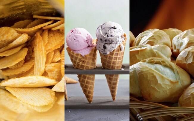Batata chips, sorvete e pão francês estão entre os alimentos que viciam. Veja lista completa e detalhes