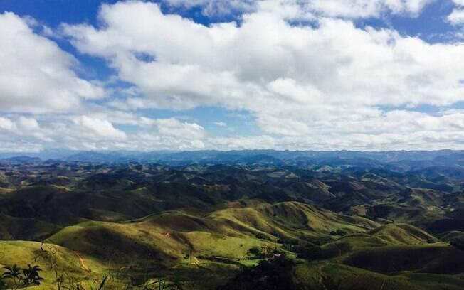 A Serra da Beleza é um dos polos para avistamento de disco voador
