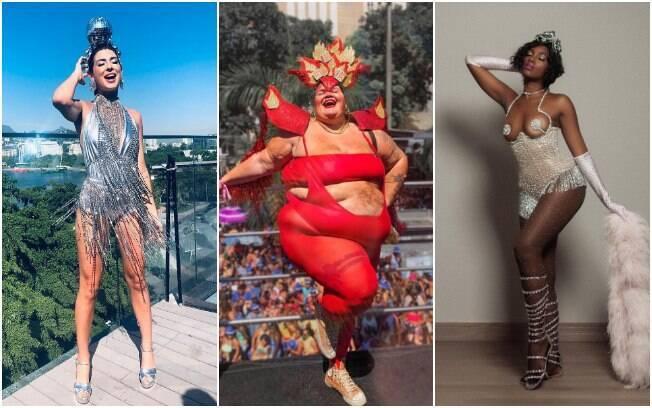 Fantasia de carnaval de famosas como Fernanda Paes Leme, Thais Carla e Iza também pode inspirar