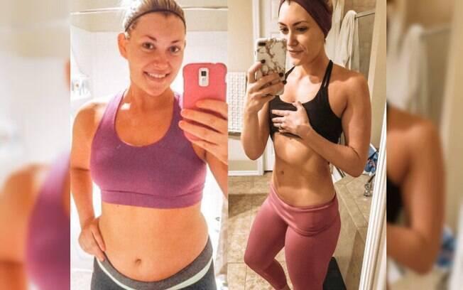 Ela fez uma lista com suas conquistas e decepções e, após se dar conta da realidade, percebeu que era hora de perder peso