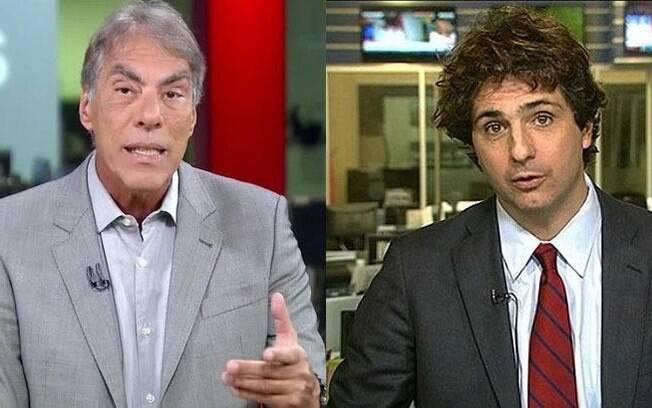 Demétrio Magnoli e Guga Chacra