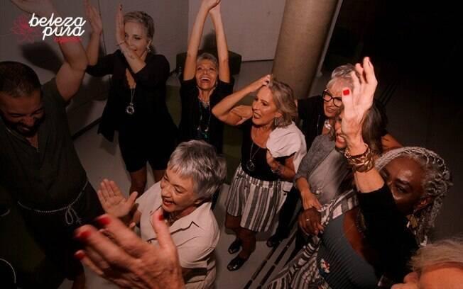 O evento Beleza Pura foca nas mulheres acima de 50 anos