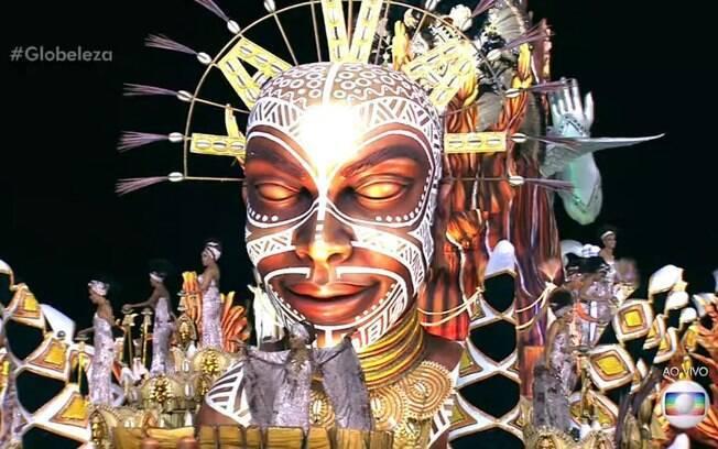 Vai-Vai foi a quinta escola a desfilar na última noite do Grupo Especial do carnaval de São Paulo