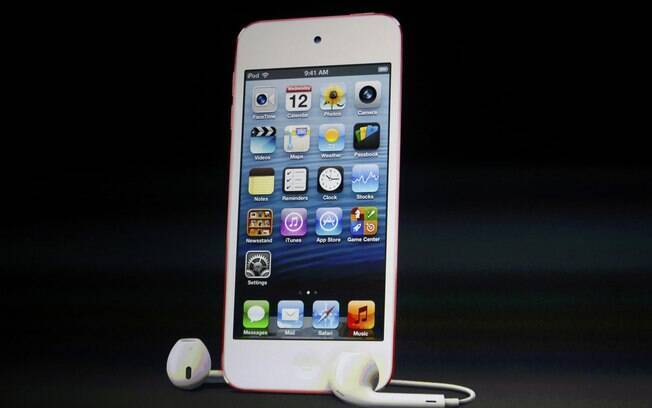 Novo iPod Touch ganhou tela igual à do iPhone 5