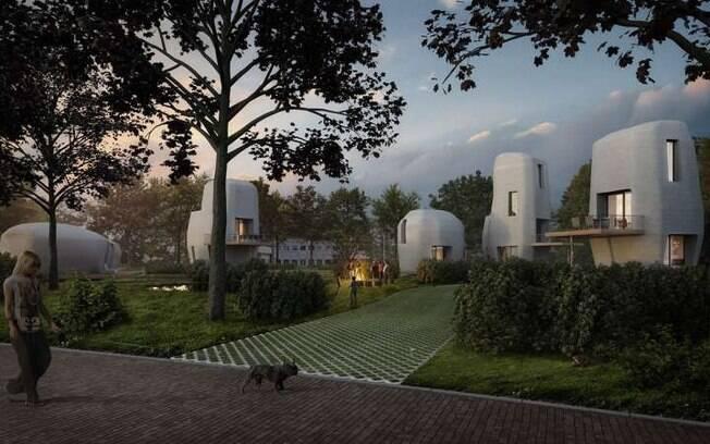 A primeira casa - que terá cerca de 100 metros quadrados, um andar e três quartos - deve ser entregue em 2019