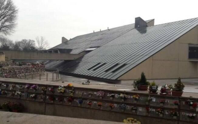 Crematório de Lambrate, m Milão, ficará fechado até o dia 30 de abril, por causa quantidade vítimas da covid-19 na fila da cremação