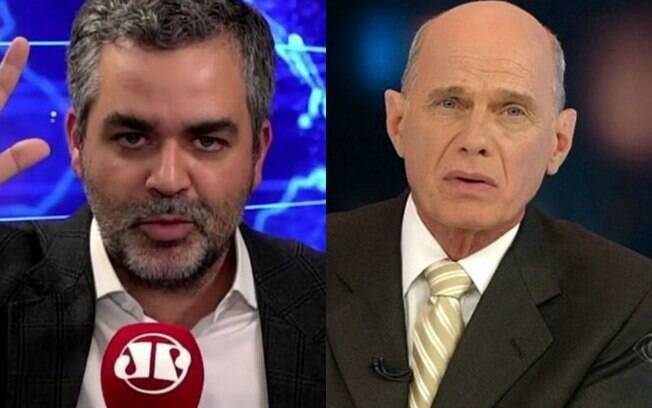 Carlos Andreazza e Boechat
