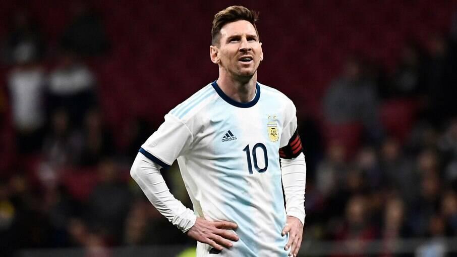 Messi detonou arbitragem e Conmebol na Copa América de 2019