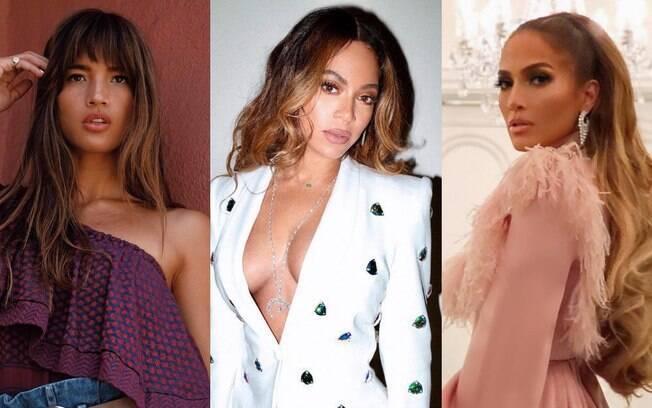 O visual morena iluminada de Juliana Paes teve inspirações de famosas, como Rocky Barnes, Beyoncé e Jennifer Lopez