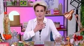 Ana Maria Braga interrompe