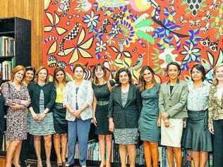 Luluzinha. Encontro entre presidente e mulheres que cobrem o Planalto durou mais de quatro horas