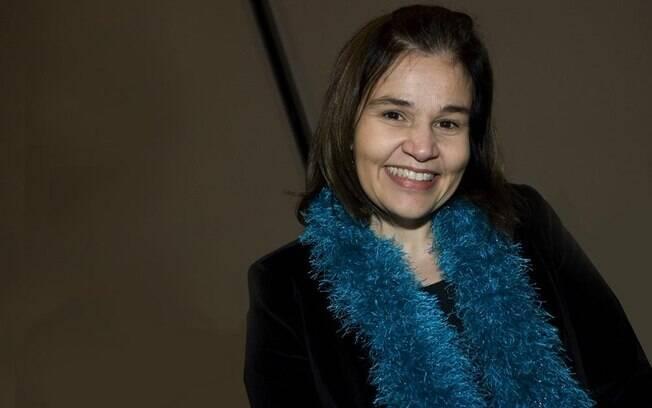 Claudia Rodrigues em foto tirada em maio de 2011