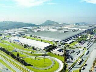 Fábrica da Fiat, em Betim, que passa por um ciclo de investimento