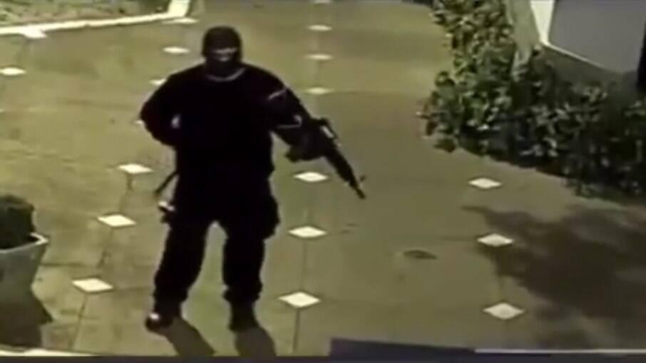 Grupo armado assalta três agências bancárias em Mococa-SP