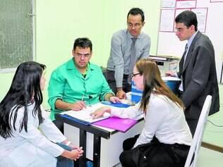 Vistorias. Ações tiveram início no setor da saúde por se tratar da área com maior índice de denúncias