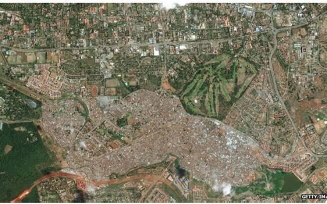 Favela abriga um quinto da população de Nairóbi