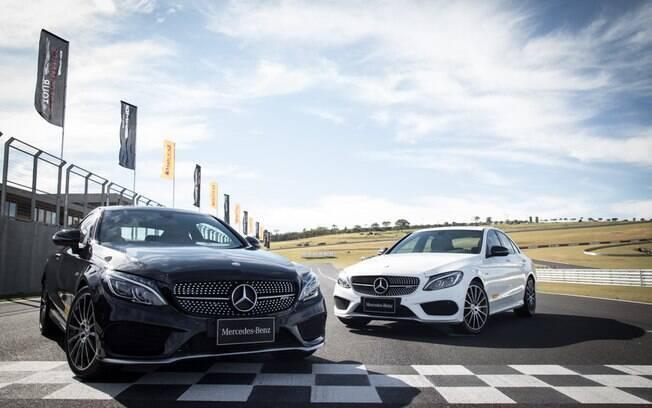O Mercedes-Benz C 43 AMG chega para ser a porta de entrada para conhecer os carros da Mercedes-AMG.