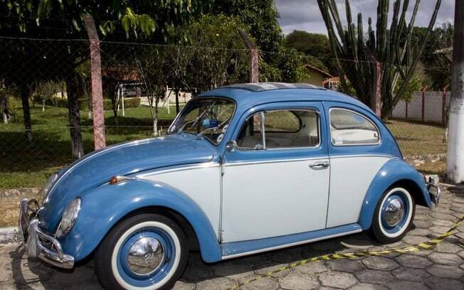 VW Fusca dos anos 60. Foto: